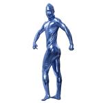 Blue-Shiny-Adult-Unisex-Skin-Suit