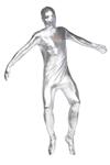 Silver-Adult-Unisex-Skin-Suit