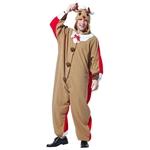 Reindeer-Santa-Adult-Unisex-Onesie