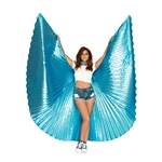 Blue-Pleated-Goddess-Wings