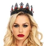 Royal-Black-Metal-Filigree-Crown