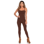 Brown-Adult-Womens-Unitard