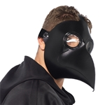 Faux-Leather-Plague-Doctor-Mask