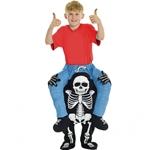 Skeleton-Piggyback-Child-Costume