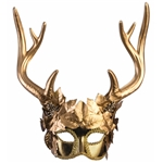 Golden-Faun-Half-Mask