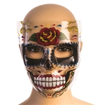 Day-of-the-Dead-Rose-Transparent-Mask