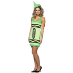 Crayola-Green-Crayon-Adult-Womens-Tank-Dress