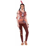 Instant-Indian-Princess-Adult-Womens-T-Shirt