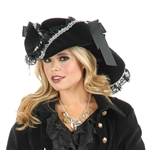 Black-Silver-Lace-Pirate-Hat