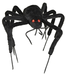 Black-Furry-Bendable-Spider