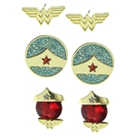 Wonder-Woman-Stud-Earring-Set