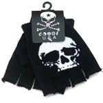 Skull-Fingerless-Gloves