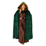 Woodland-Green-Hooded-Cape