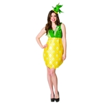 Pineapple-Adult-Womens-Dress