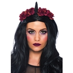 Dark-Velvet-Unicorn-Flower-Headband