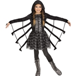 Sparkling-Spider-Dress-Child-Costume
