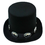 Black-Top-Hat-with-Medallions