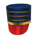 Satin-Drum-Major-Hat-with-Gold-Trim