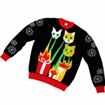 Laser-Cat-Zillas-Adult-Ugly-Christmas-Sweater