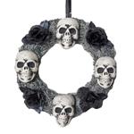 4-Skulls-Halloween-Wreath