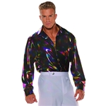 Disco-Man-Adult-Mens-Plus-Size-Shirt
