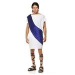 White-Blue-Toga-Man-Adult-Mens-Costume