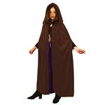 Brown-Velvet-Hooded-Child-Cloak