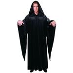 Black-Velvet-Hooded-Child-Oversized-Cloak