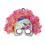 Pink-Day-of-the-Dead-Embroidered-Half-Mask