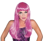Glamour-Hot-Pink-Wig