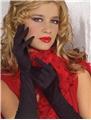 Black-Rouched-Gloves-50cm
