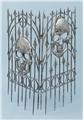 Silver-Skull-Fence