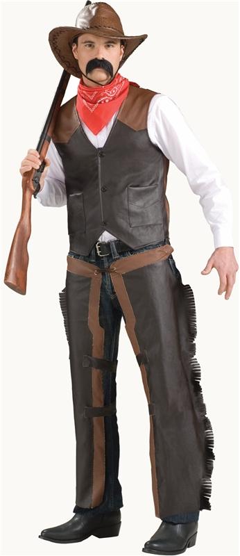 Cowboy Adult Vest