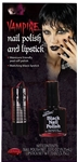Black-Lipstick-And-Nail-Polish-Kit