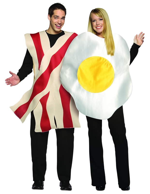 Bacon and Eggs Adult Costume Set