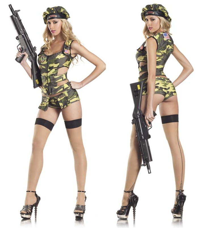 Army Brat Sexy Adult Womens Costume