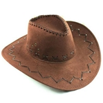 Brown-Cowboy-Hat-Faux-Suede