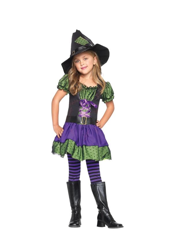 Hocus Witch Child 2pc Costume