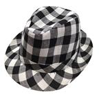 Checkered-Fedora-Adult-Hat
