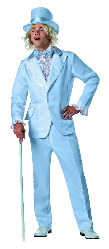 Dumb and Dumber Harry Blue Tuxedo Adult Mens Costume