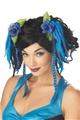 Blue-Flower-Braided-Hair-Fairy-Clips