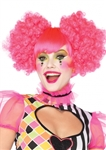 Harlequin-Curly-Neon-Wig