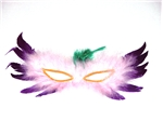 White-and-Purple-Feather-Mask