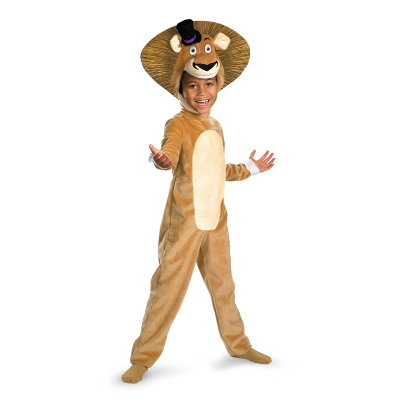 Madagascar Alex the Lion Deluxe Child Boy Costume