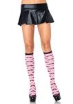 Pink-Mustache-Knee-Socks