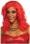 Rihanna-Red-Wig