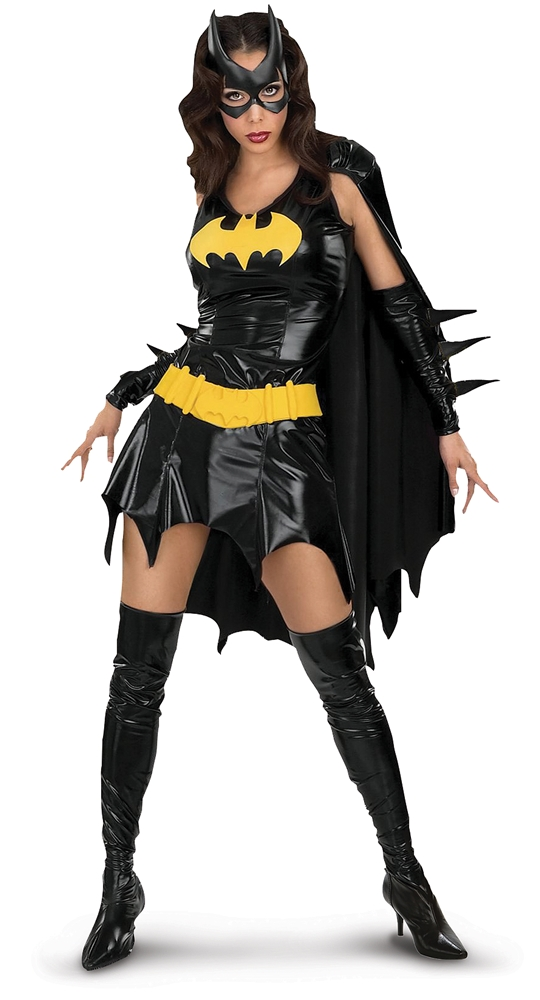 Batgirl Sexy Adult Womens Costume