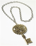 Steampunk-Gear-Necklace