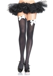 Thigh-High-Stockings-With-Bow-Accent