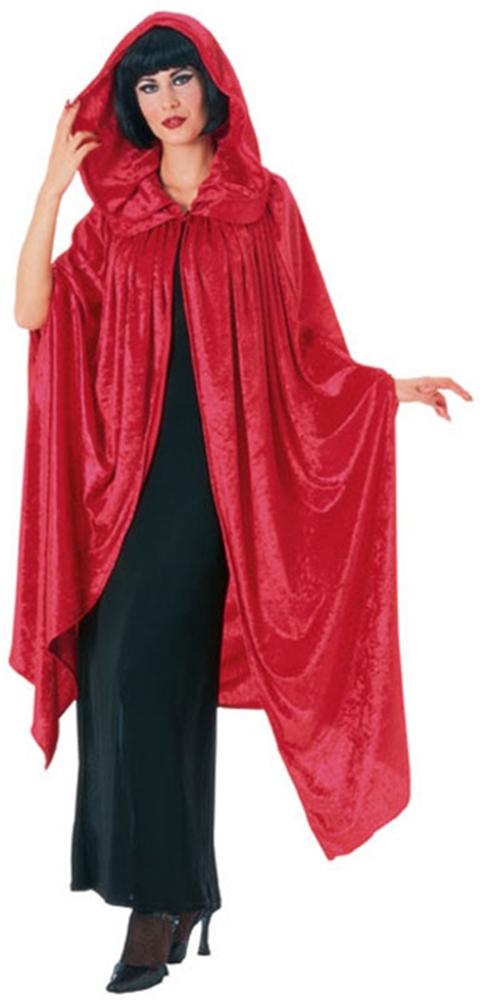 Red Velvet Deluxe Gothic Cloak